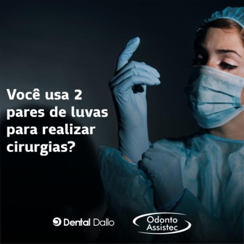 Luvas em cirurgias