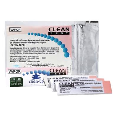 Indicador Integrador Químico Classe 5 - Clean Up