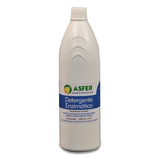 Detergente Enzimático 3 enzimas 1L - Asfer