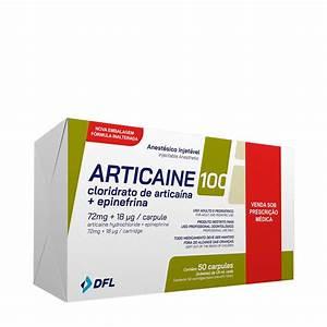Anestésico Articaíne 4% 1:100.000 - Nova DFL