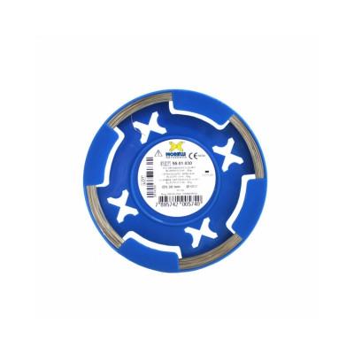Rolo de Fio de aço inox duro elástico 0,50 - Morelli