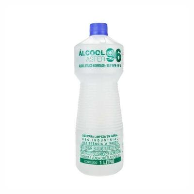Álcool 96% Líquido 1L - Asfer