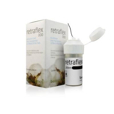 Fio Retrator Retraflex 000 Preto - Biodinâmica