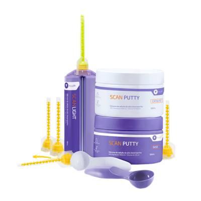 Kit Silicone de Adição Scan Putty + Scan Light 50ml - Yller