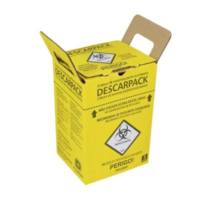 Coletor De Material Perfuro Cortante 3L - Descarpack