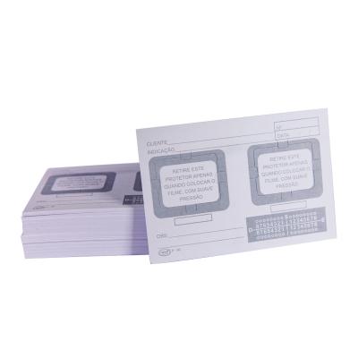 Cartão Raio-X 2 furos - Preven