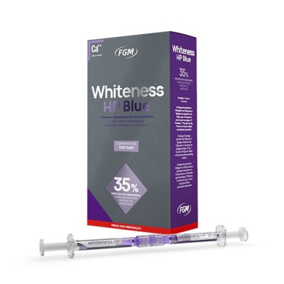 Clareador Whiteness HP Blue 35% 1 paciente - FGM