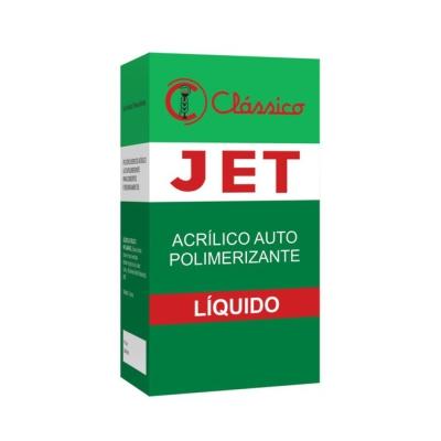 Resina Acrílica Auto JET Líquido 120ml - Clássico