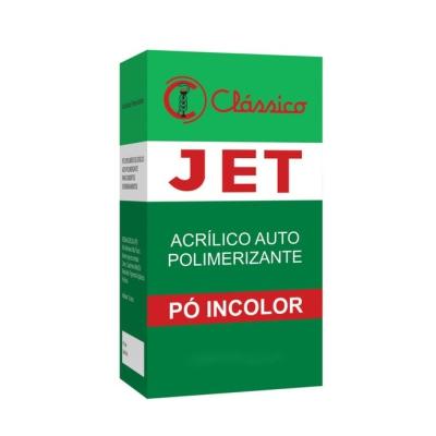 Resina Acrílica Auto JET Pó Incolor 220g - Clássico