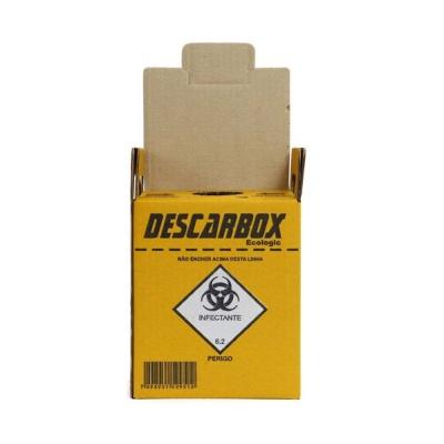 Coletor De Material Perfuro Cortante 7L - Descarbox